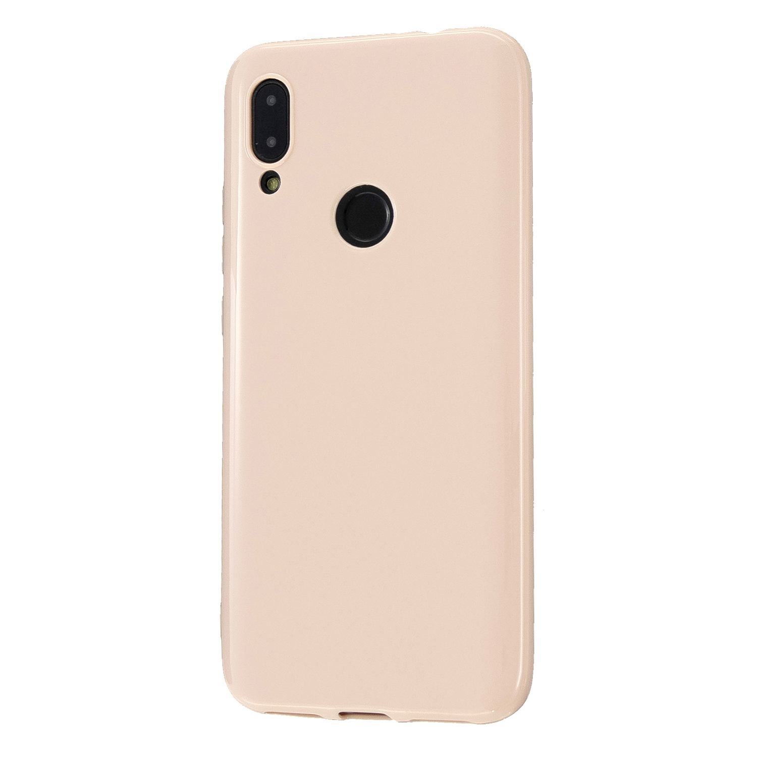 For Redmi 7/7A/Note 7/Note 7 Pro Cellphone Cover Overall Protection Soft TPU Anti-Slip Anti-Scratch Phone Case Sakura pink