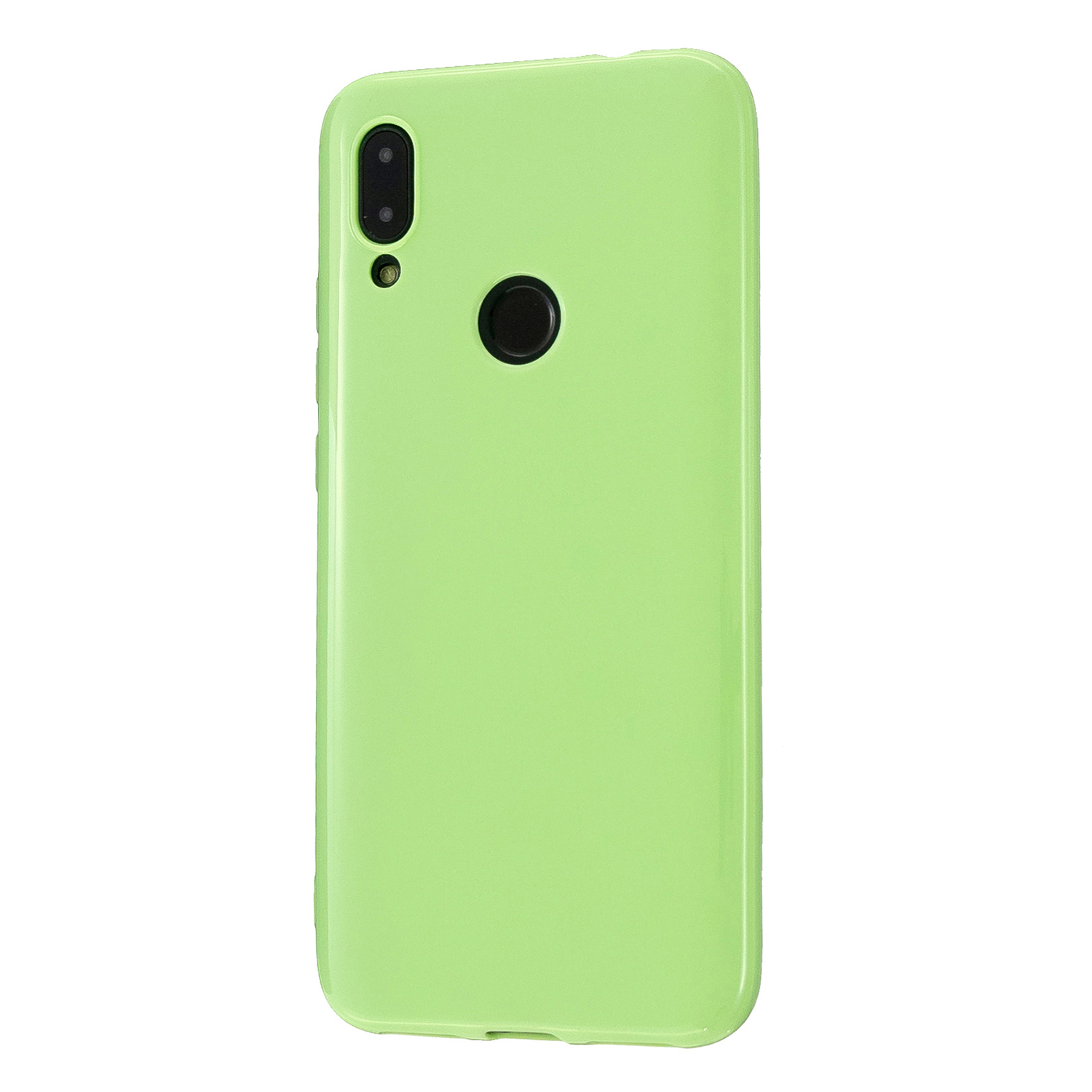 For Redmi 7/7A/Note 7/Note 7 Pro Cellphone Cover Overall Protection Soft TPU Anti-Slip Anti-Scratch Phone Case Fluorescent green