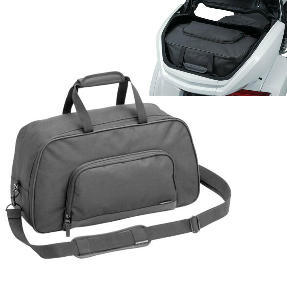 Motorcycle  Suitcase Travel Bag Soft Saddle Bag For Gold Wing Gl1800 2001-2018 black