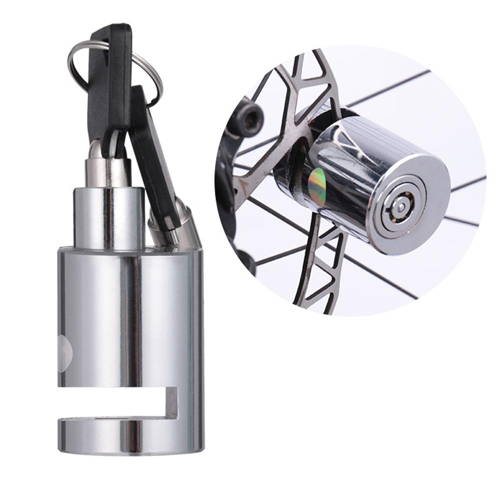 Motorcycle Disc Brake Lock Electric Car Anti-theft Lock Battery Car Bike Lock Bicycle Locks Mini disc brake_One size