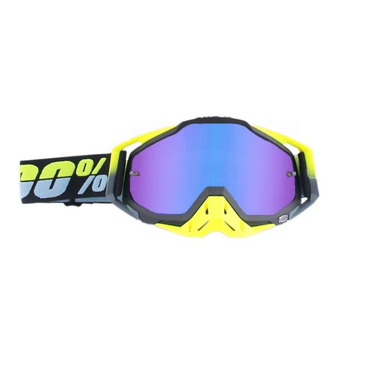 Motorcycle Helmets Goggles Off Road Dirt Bike Ski Sport Glasses Mask Moto Glasses Sets