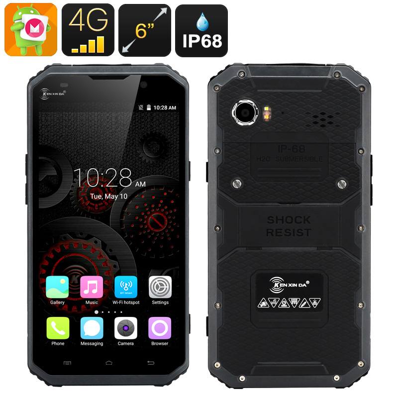 Wholesale Ken Xin Da Proofings W9 Waterproof Smartphone