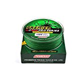 100M Strong PE Braided Fishing Line green