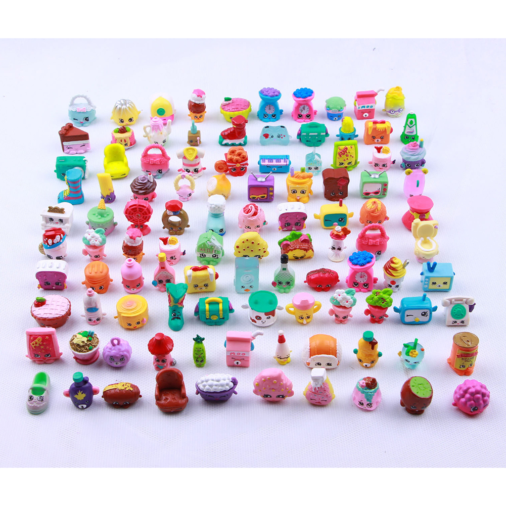 [EU Direct] 50Pcs Random Cartoon Character Doll of Fruit Family Action Figure Doll for Pretend Play