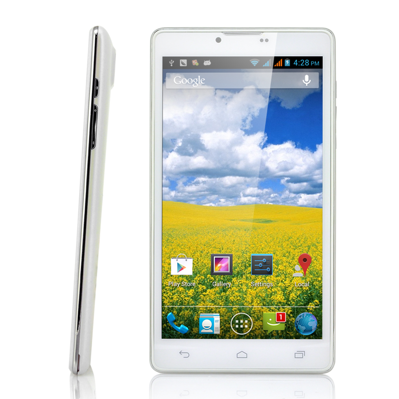 6 Inch Android 4.1 Dual Core Phone - Ivoire
