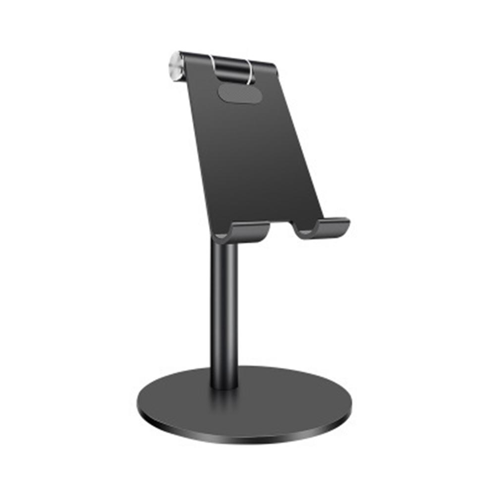 Simple Aluminum Alloy Lifting Adjustment Desktop Lazy Multi-function Mobile Phone Tablet Bracket Stand black