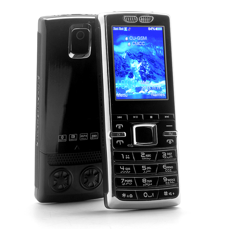 2.4 Inch Dual SIM Bar Phone with Bluetooth
