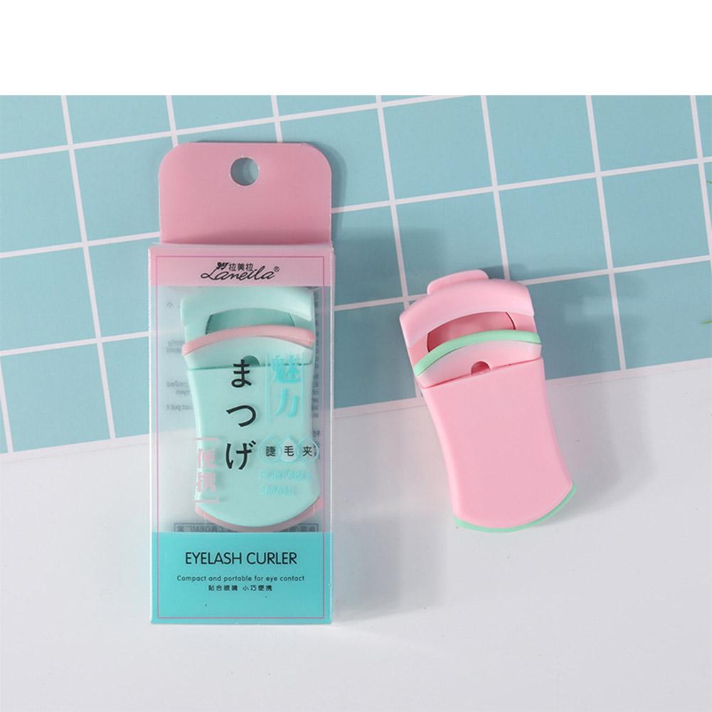 Mini Eyelash Curler Portable Eye Lash Curler Natural Lashes Curling Tweezers Makeup Eyelashes Tools