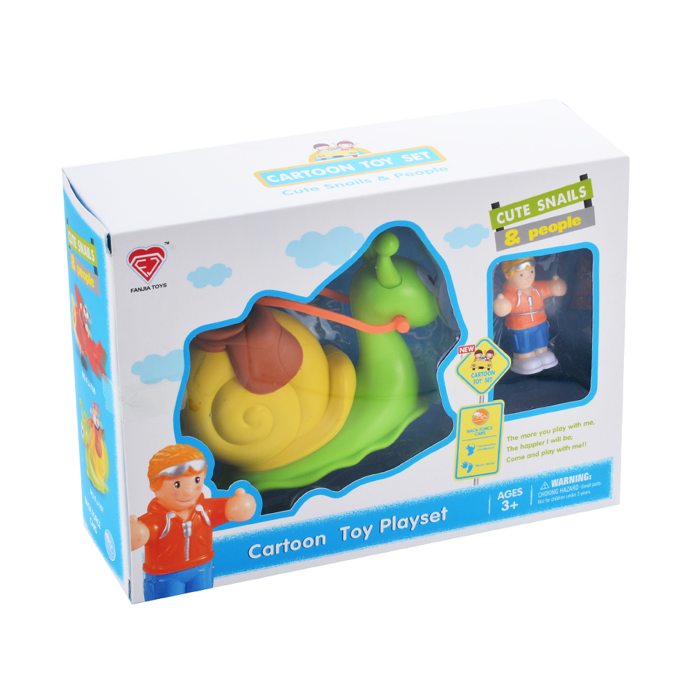 [US Direct] Cartoon pull back car with little princess, parent product green