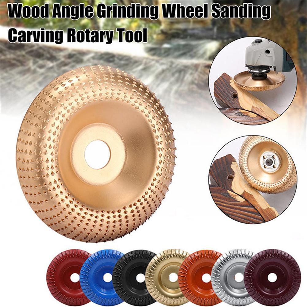 4-inch Angle  Grinder Woodworking Sanding Plastic Thorn Disk For Polishing 16 holes 100mm random color