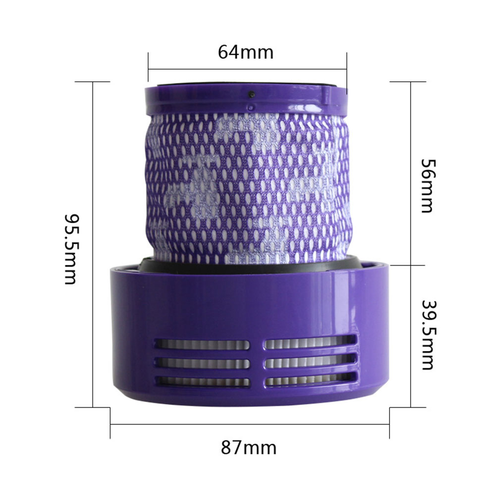 HEPA Filter Exhausting Air Strainer for Dyson V10 Vacuum Cleaner Parts U.S. Edition