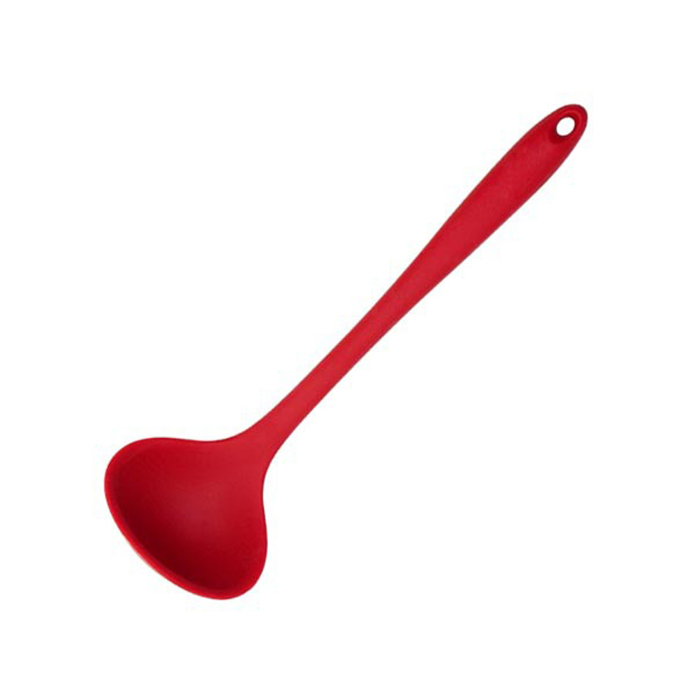 Silicone Cooking Tools Kitchen Utensils Heat-resistant Nonstick Spatula/Shovel/Soup Spoon Soup spoon