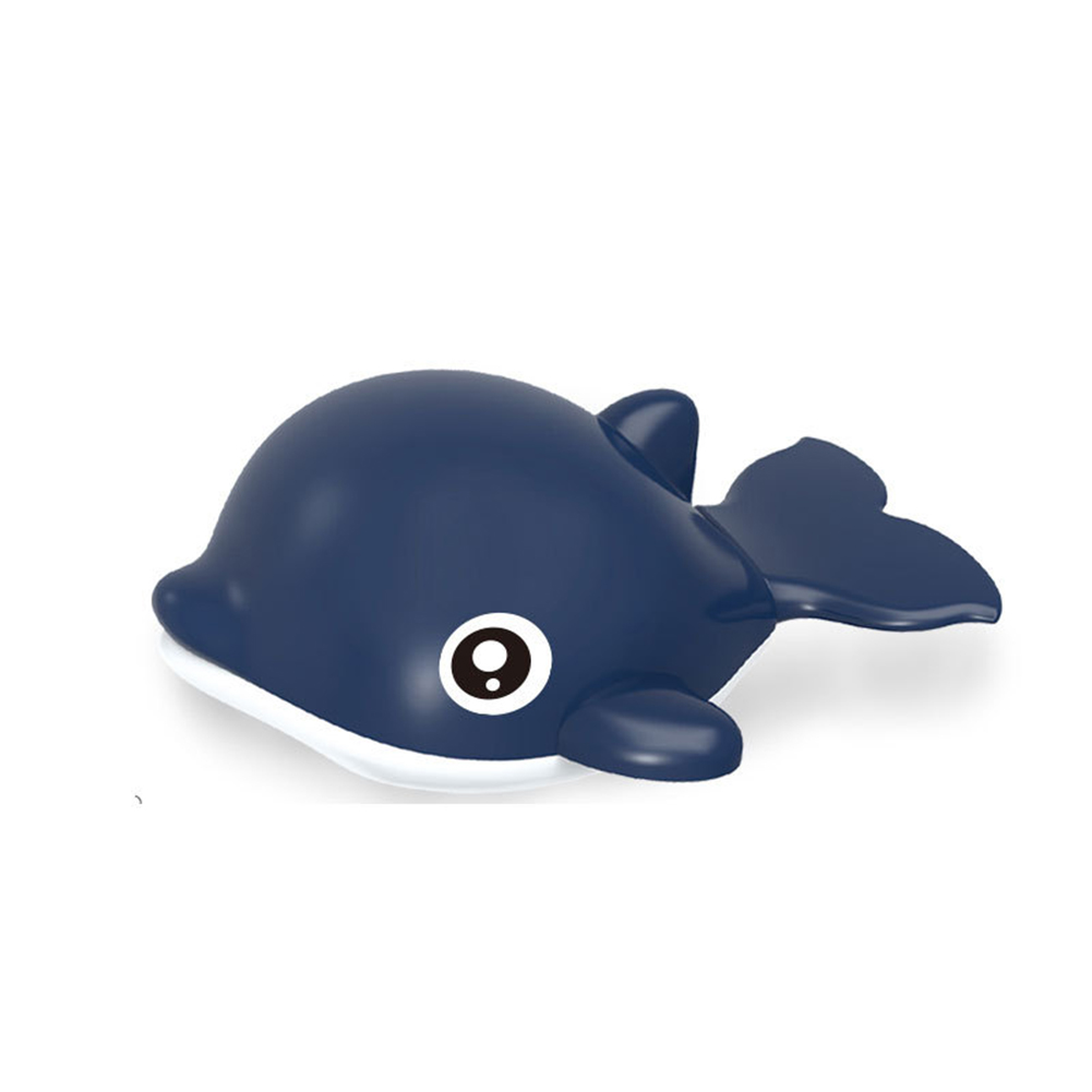 Baby Wind-up Clockwork Playing Toys Cute Cartoon Animal Shape Toy For Kids Dolphin Blue