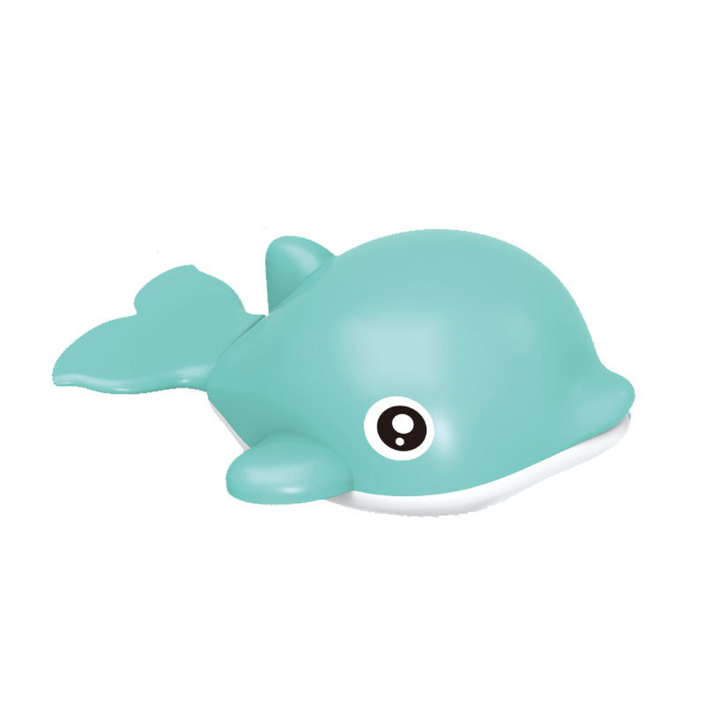 Baby Wind-up Clockwork Playing Toys Cute Cartoon Animal Shape Toy For Kids Dolphin green