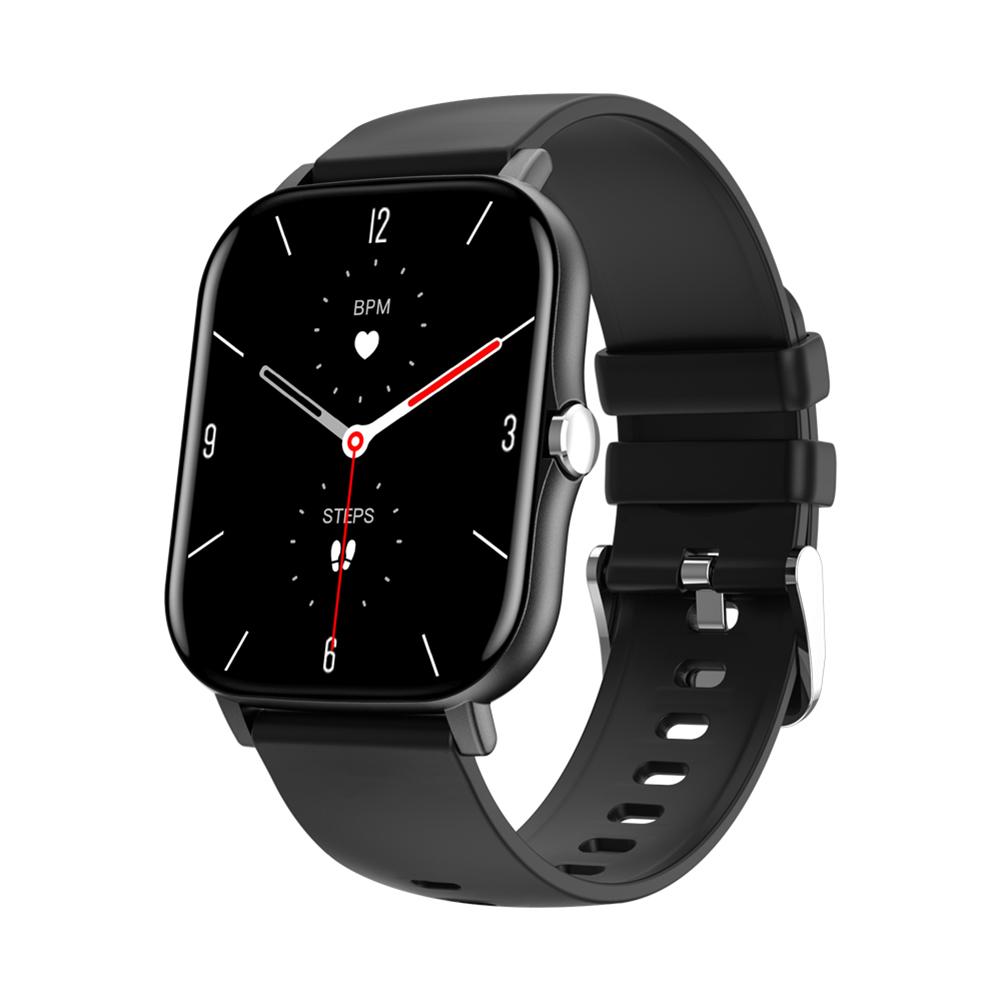 Original LEMFO Lf27 Smart  Watch Man 1.7 Inch Full Hd Screen Heart Rate Blood Pressure Monitor For Men Women black