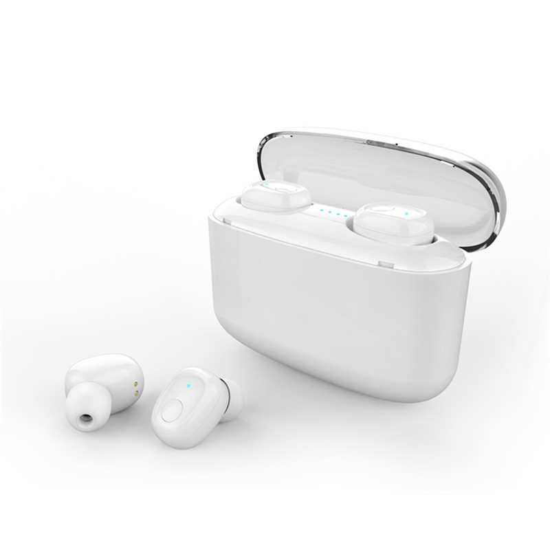 G5S Wireless Bluetooth 5.0 Headphone 6D Lossless Noise Reduction Stereo Headset White lights show both ears