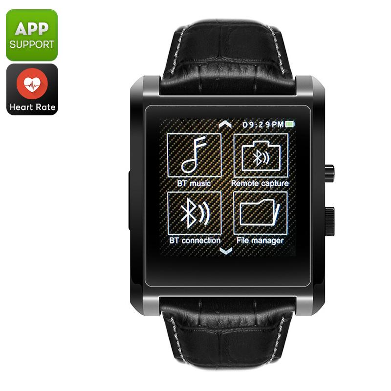Domino DM08 Bluetooth Watch (Black)