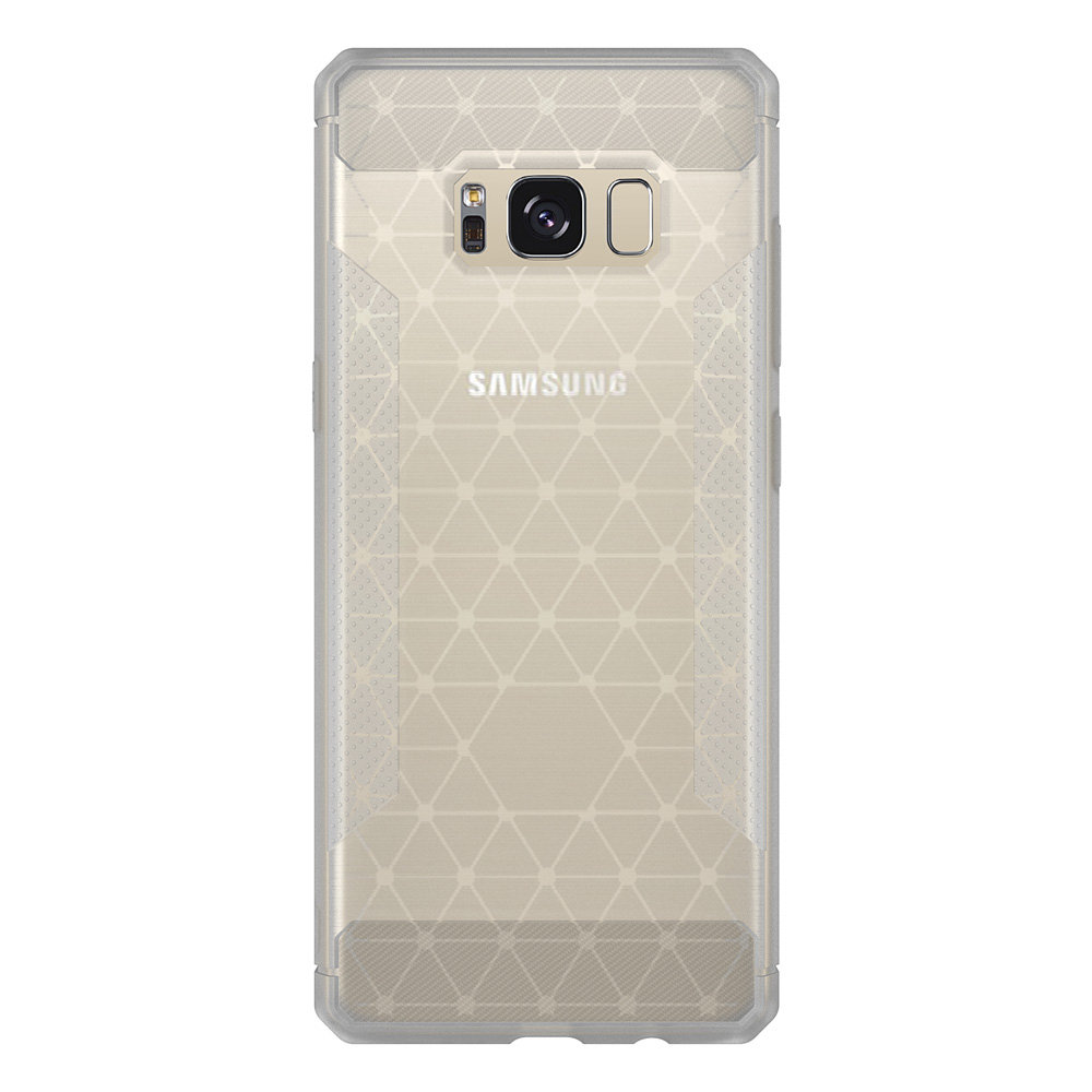 Stylish Ultra Slim Soft TPU Frosted Back Cover Non-slip Shockproof Full Protective Case for Samsung S8/S8 plus