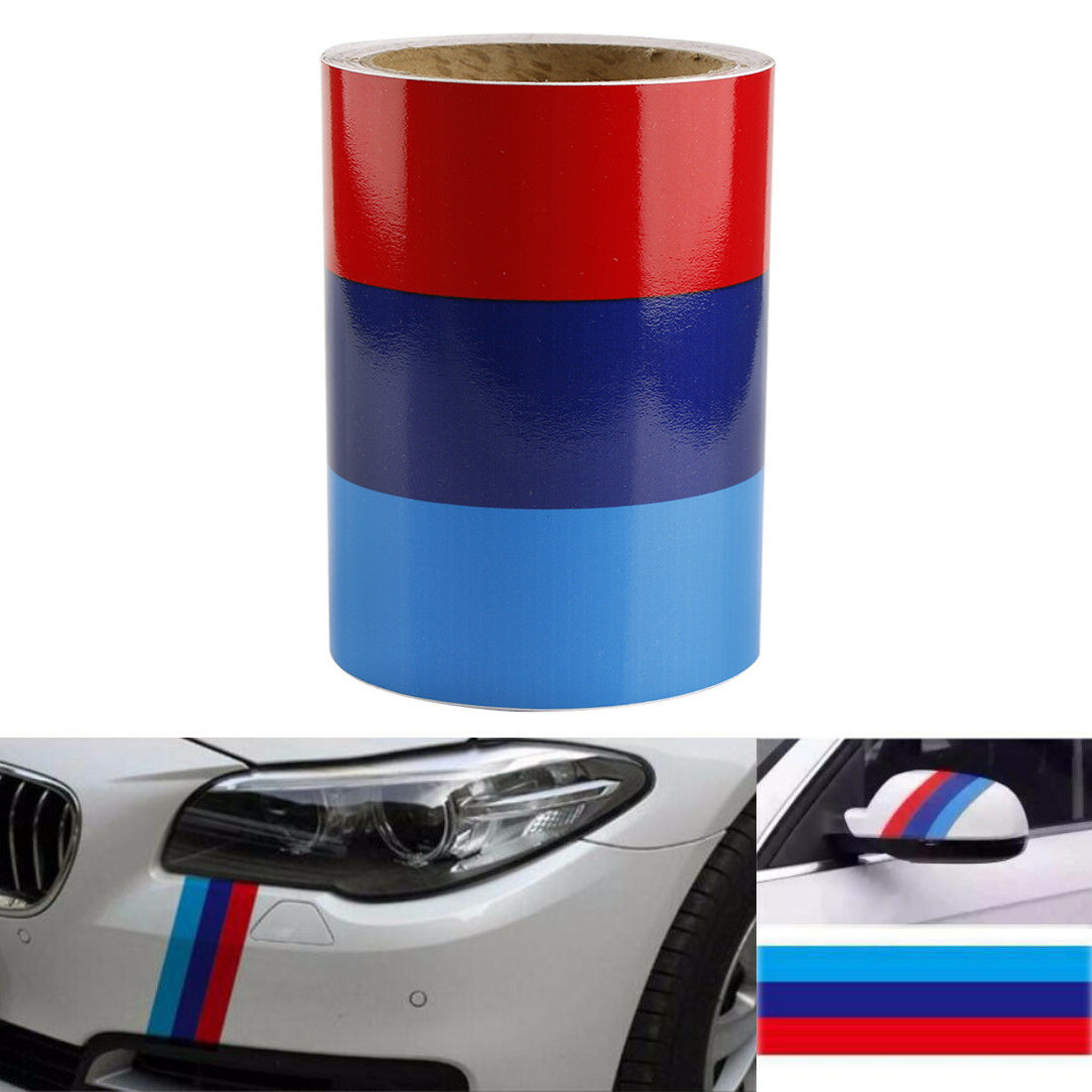 Stripe Sticker Car Vinyl Decal For BMW M3 M4 M5 M6 3 5 6 7 Series