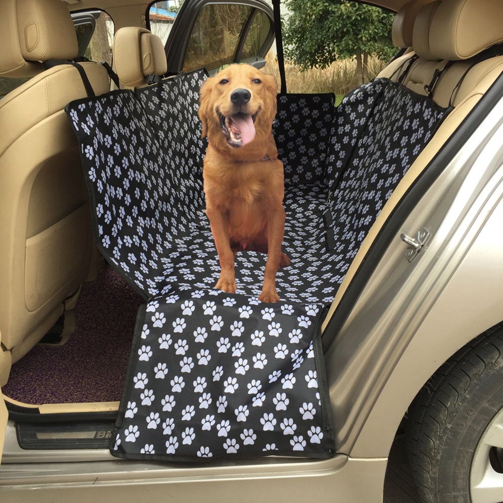 Thickened Waterproof Vehicle-Mounted Pet Mat Soiling Resistant Oxford Cloth Car Boot Pet Cushion  L