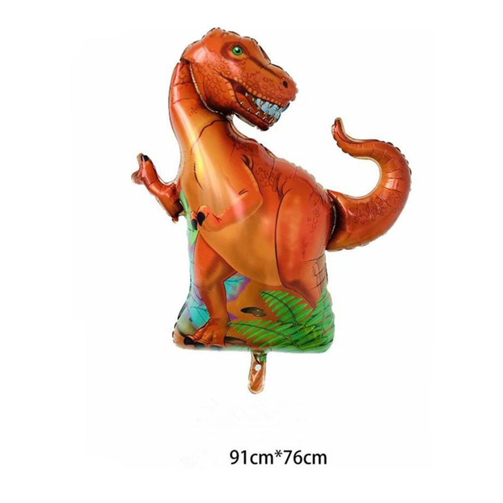 Aluminum Film Dinosaur Balloon Party Theme Decoration For Children's Birthday Party Decoration Toy Gift