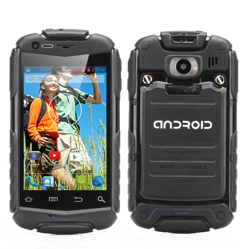 3.5 Inch Shockproof Phone (Black)