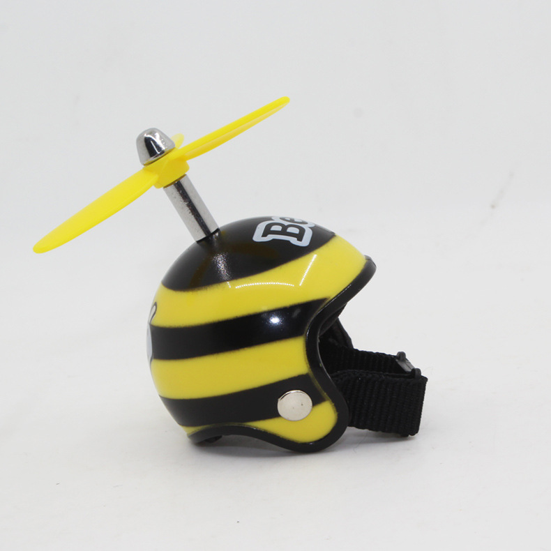 [Indonesia Direct] Motorcycle Helmets Keyring + Bamboo Dragonfly Safety Helmet Car Keychain Chain Gift  #17