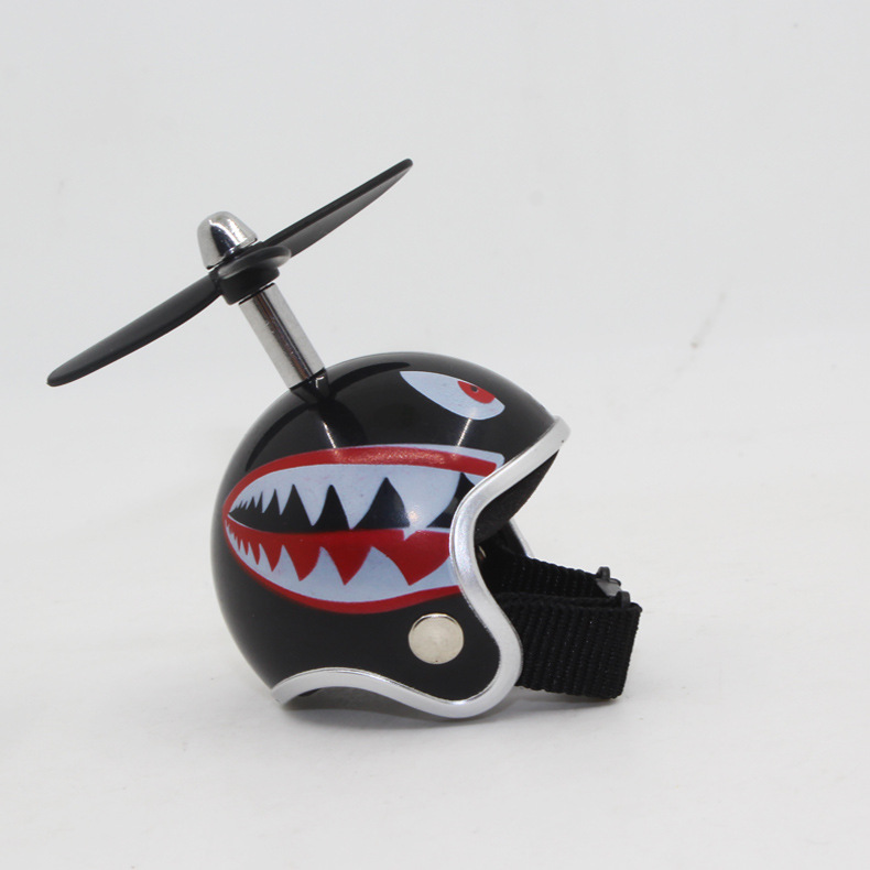 [Indonesia Direct] Motorcycle Helmets Keyring + Bamboo Dragonfly Safety Helmet Car Keychain Chain Gift  #14
