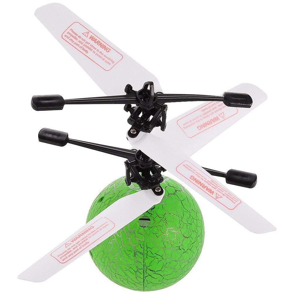 Infrared Sensor Flying Balls Hand Induced Flight with LED Lights