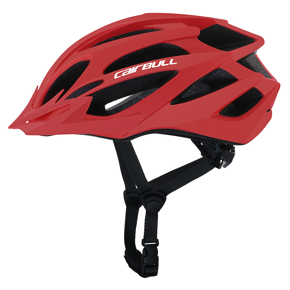 [Indonesia Direct] Professional Bicycle Helmet MTB Mountain Road Bike Safety Riding Helmet red_M/L (55-61CM)