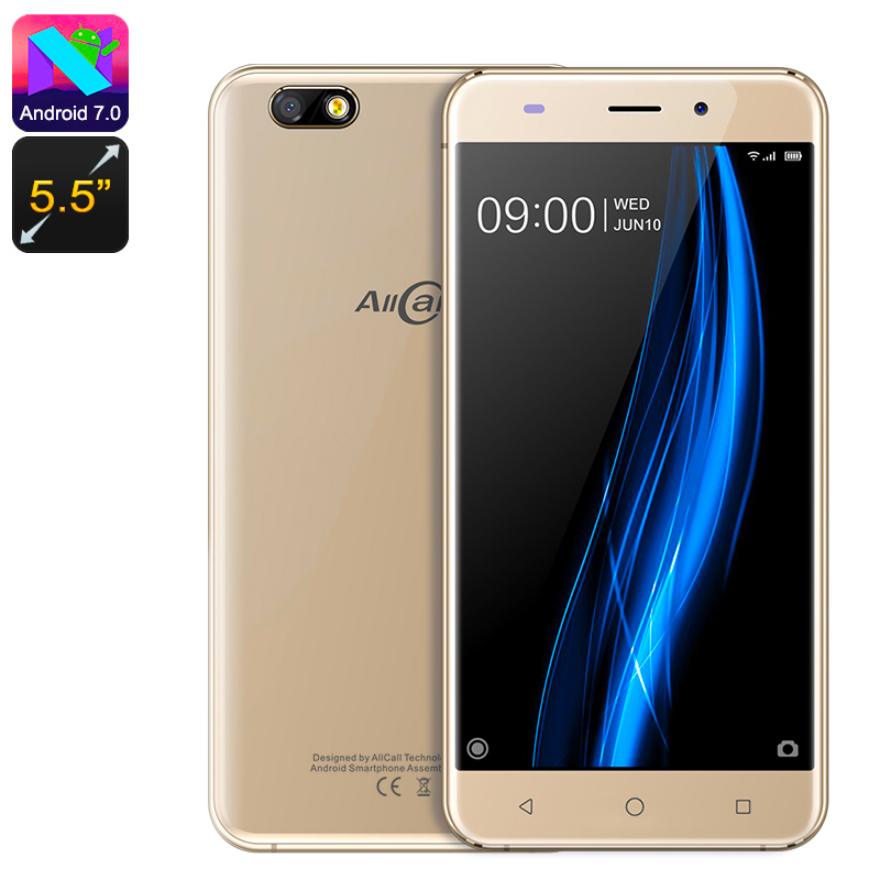 Allcall Madrid 3G Smartphone (Gold)