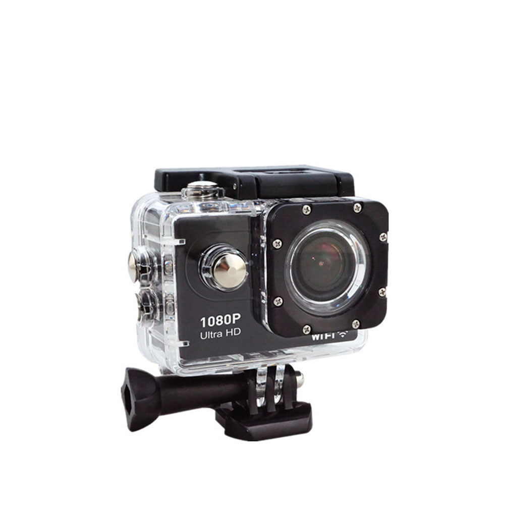 Ultra HD Waterproof Sports Camera - Black