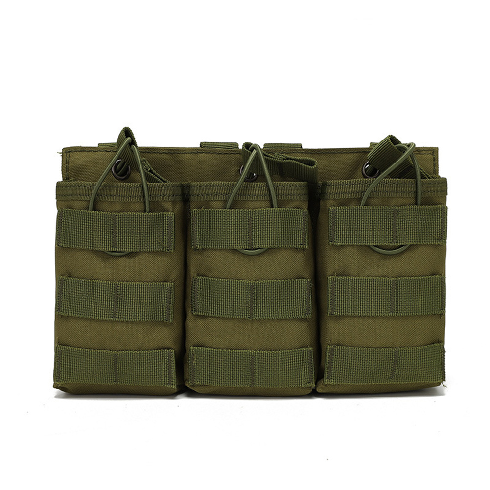 Outdoor  Bag Utility Waist  Pack Pouch Oxford Cloth Vest With Storage Pocket For Outdoor Hiking ArmyGreen_One size