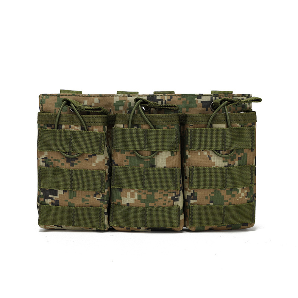 Outdoor  Bag Utility Waist  Pack Pouch Oxford Cloth Vest With Storage Pocket For Outdoor Hiking Jungle Digital_One size