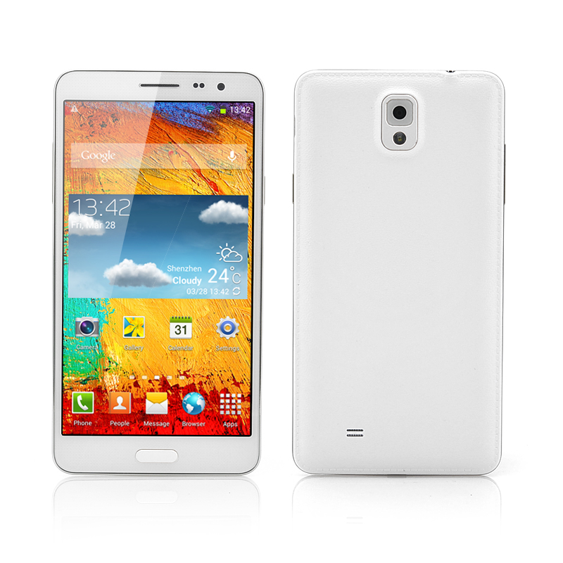 Octa-Core Android Phone (White)