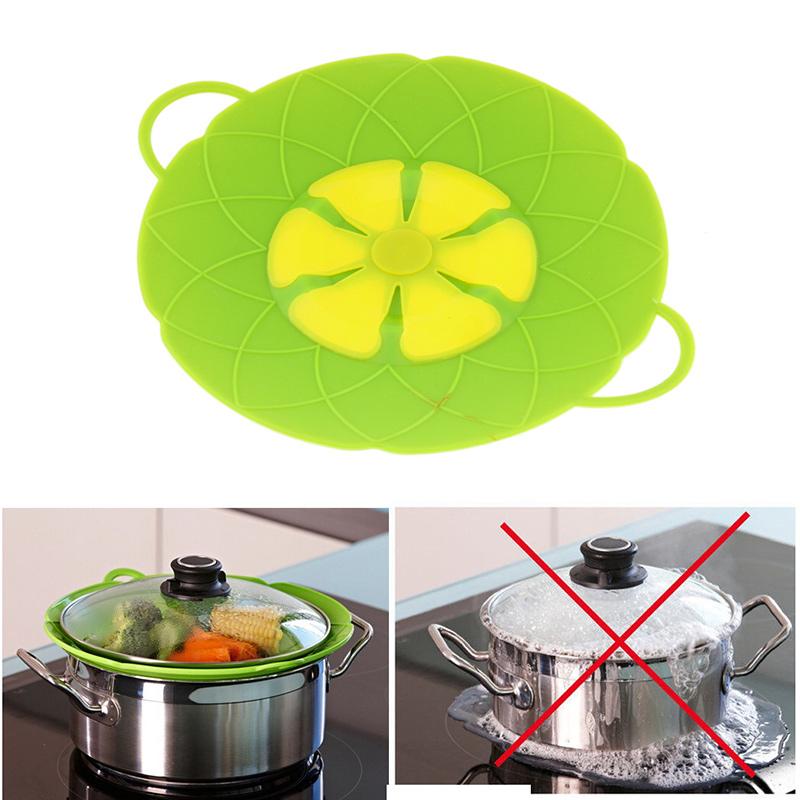 [EU Direct] Korean Domestic Kitchen Splash Resistant Spill-proof Dust-proof Heat-resistant Silicone Cover
