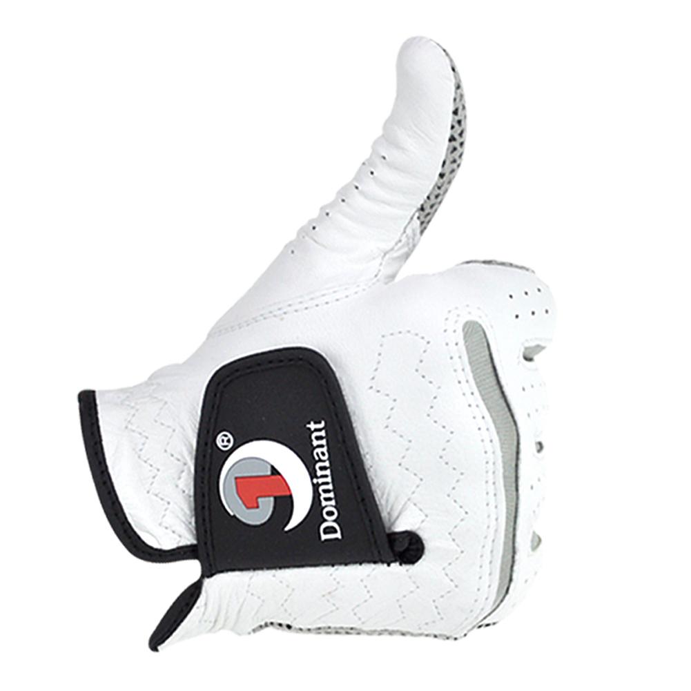 Men Golf Gloves Leather Skid-proof Gloves Men Right Hand Soft Breathable Sheepskin Golf Gloves Golf Accessories 24#