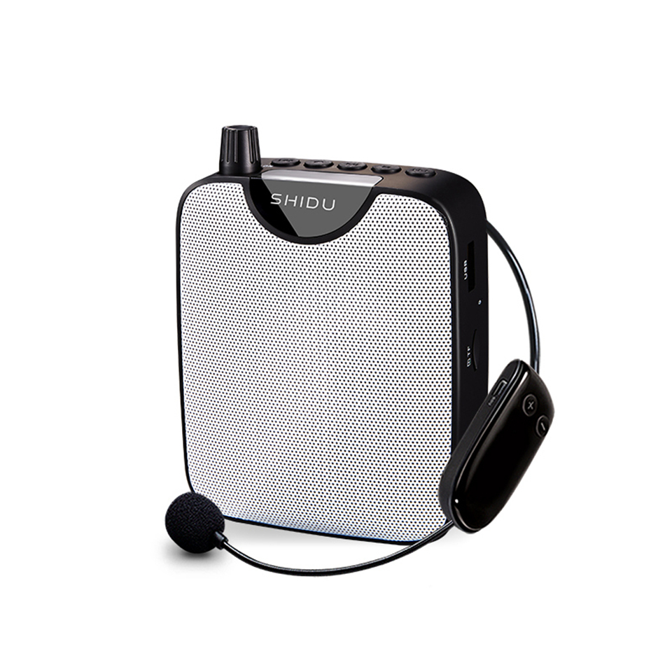 M500 Wireless Loudspeaker High-power Portable Amplifier with Belt black
