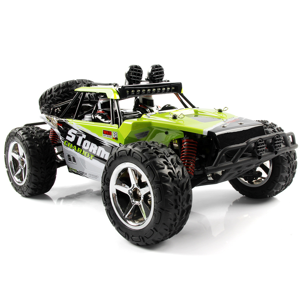 Subotech BG1513 2.4G 1/12 4WD RTR High Speed RC Off-road Vehicle Car Remote Control Car With LED Light green