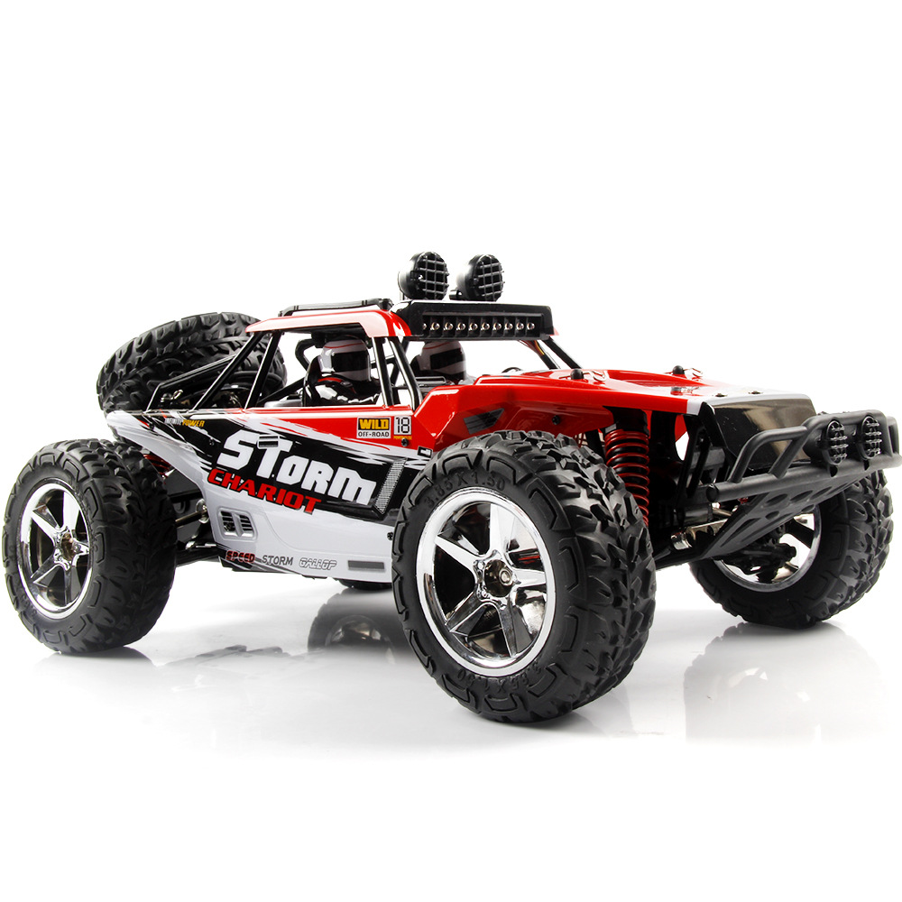 Subotech BG1513 2.4G 1/12 4WD RTR High Speed RC Off-road Vehicle Car Remote Control Car With LED Light red