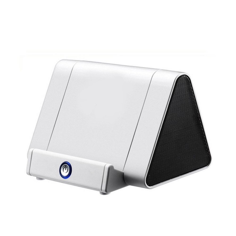 Creative Sensor Amplifier Phone Support Audio Portable Speaker white
