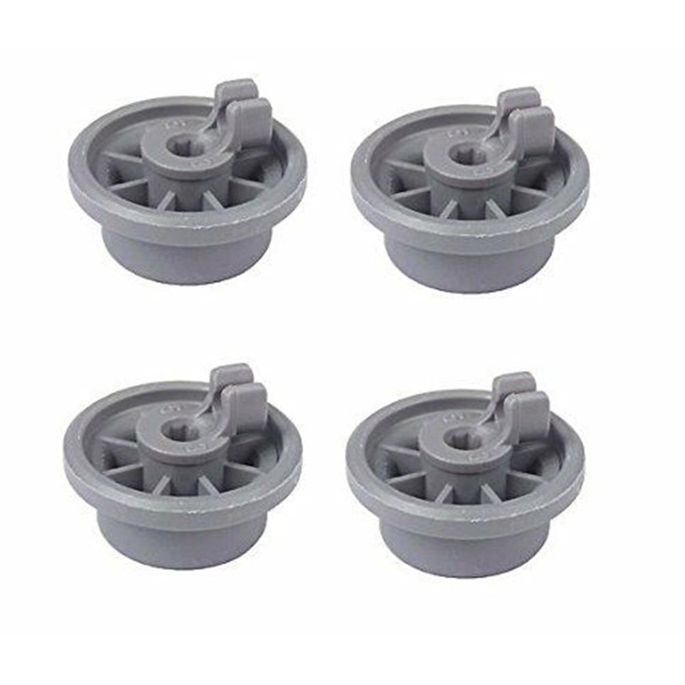 4Pcs Wheel for Bosch Siemens Neff 165314 Dishwasher Accessories 4pcs
