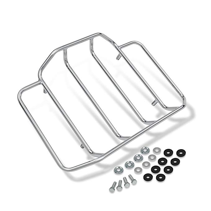 Motorcycle Modification Rear Luggage Rack for  Classic Glide 84-17 silver
