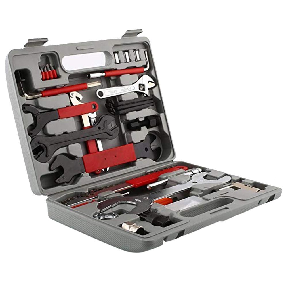 44pcs/set Bicycle Repair Kit Multi-functional Bicycle Repair Kit 44pcs/set