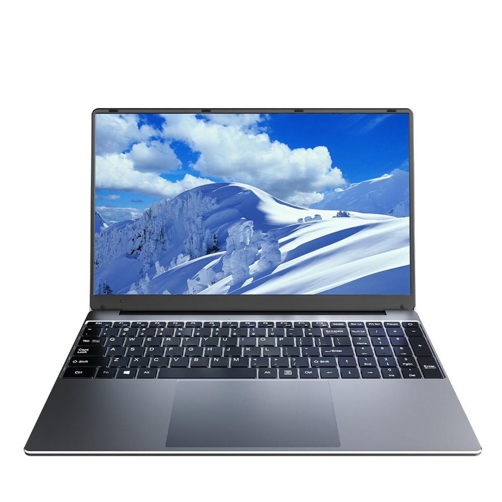 [EU Direct] KUU A10 Laptop 15.6-inch FHD 1920x1080 IPS Intel Celeron J4125 8GB DDR4 Ram 256GB M.2 SSD Windows 10 Ultra Hd Graphics 600 Black (Germany only)