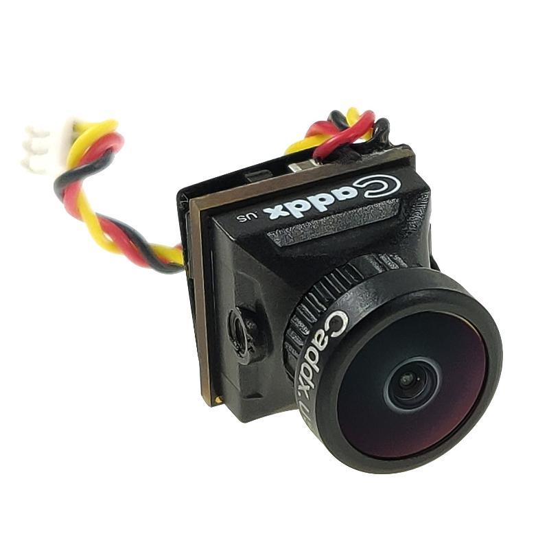 Caddx Turbo EOS2 1200TVL 2.1mm 160 Degree 1/3 CMOS 16:9 Mini FPV Camera NTSC/PAL for RC Drone Black NTSC
