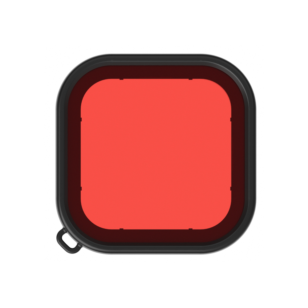 Deep Diving Lens Filters for Gopro Hero 8 Waterproof Housing Case Filter Kit Camera Accessories  red