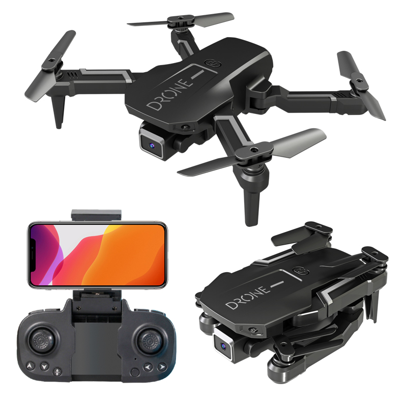 H3  Mini  Folding  Aircraft 4k Motion-picture Single/Dual Camera 4-axis Height Hover Remote Control Drone Single camera 4k 3 battery