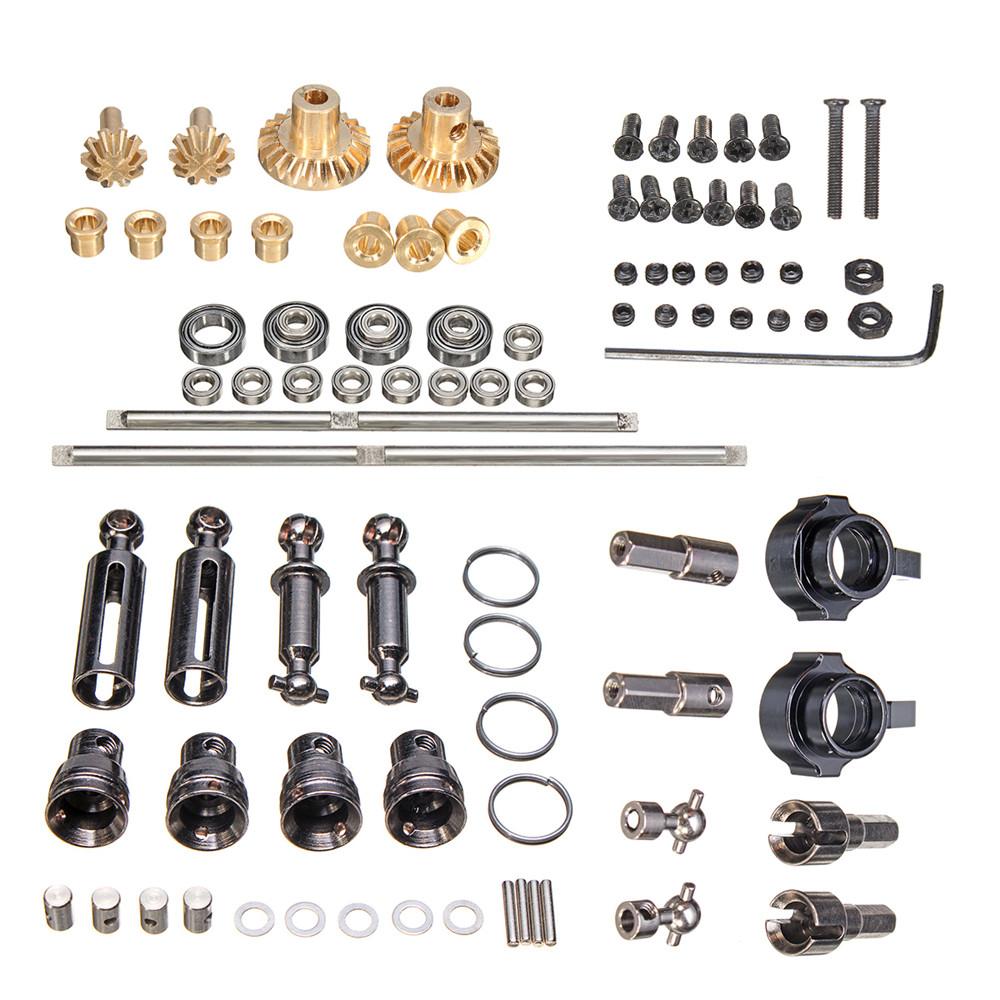 WPL Metal OP Accessory For 1/16 4WD B1 B14 B24 C14 C24 RC Car Parts as shown