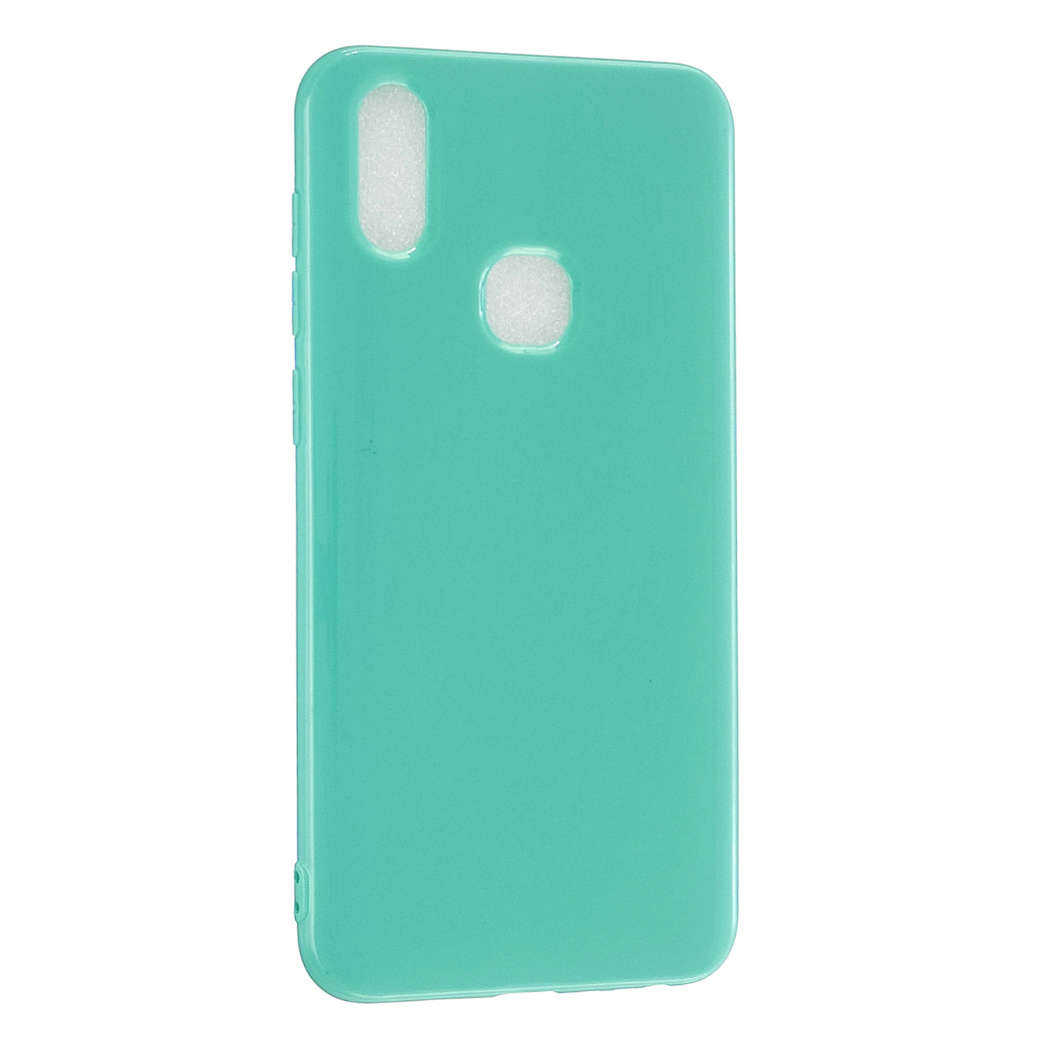 for VIVO Y17/Y3 / Y91/Y95/Y93 Thicken 2.0mm TPU Back Cover Cellphone Case Shell Light blue